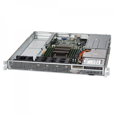 Supermicro 1U Rackmount SuperServer SYS-1018R-WR - Angle