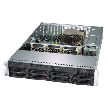 Supermicro 2U Rackmount A+ AMD EPYC Server AS-2013S-C0R Angle