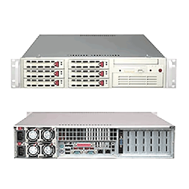 Supermicro 2U Rackmount Server A+ AMD Opteron AS-2020A-8RB