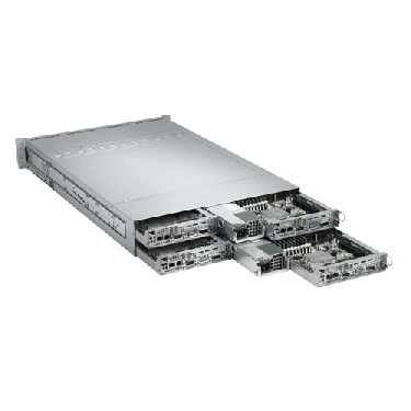 Supermicro 2U Twin2 Rackmount Server A+ AMD Opteron AS-2022TG-HTRF