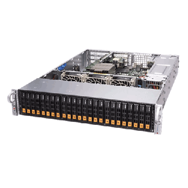 Supermicro 2U Rackmount A+ AMD EPYC Servers AS-2113S-WN24RT ANgle