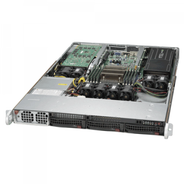 Supermicro 1U Rackmount Server Sys-5018GR-T - Angle
