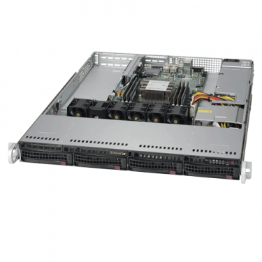 Supermicro SYS-5019P-M Angle