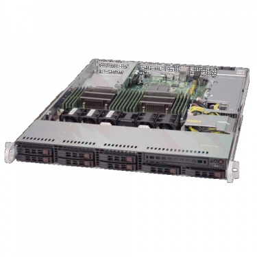 Supermicro SYS-6018R-TDW Angle