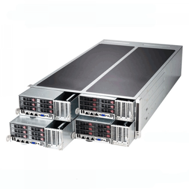Supermicro 4U Rackmount SuperServer SYS-F628R2-FC0+ Angle