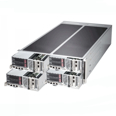 Supermicro 4U Rackmount SuperServer SYS-F628R3-FT+ Angle