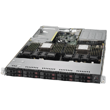 Supermicro Ultra SuperServer SYS-1029U-TR4T Angle