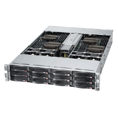 Supermicro 2U Twin2 Rackmount A+ AMD Opteron Server AS-2022TG-H6IBQRF