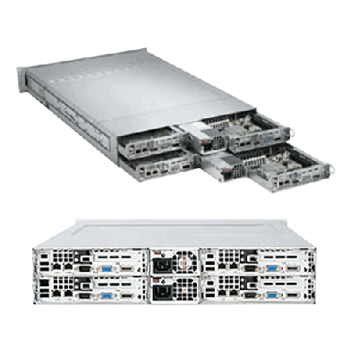 Supermicro 2U Rackmount Server A+ AMD Opteron AS-2022TG-HIBQRF
