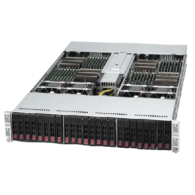 Supermicro 2U Twin2 Rackmount A+ AMD Opteron Server AS-2122TG-HTRF