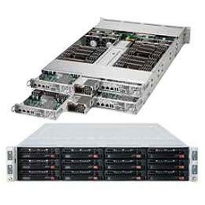 Supermicro 2U Twin2 MultiNode SYS-6027TR-H70RF+