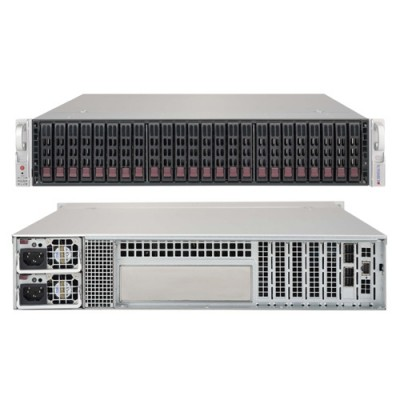 Supermicro 2U JBOD Storage Chassis CSE-216BE1C-R741JBOD