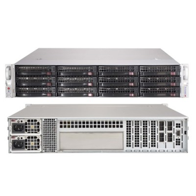 Supermicro 2U JBOD Storage Chassis CSE-826BE2C-R741JBOD