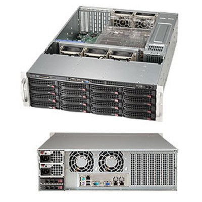 Supermicro 3U SuperChassis CSE-836BE16-R1K28B
