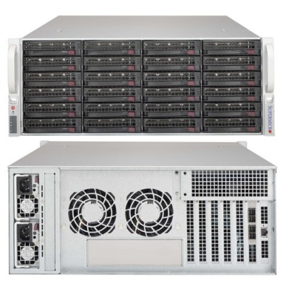 Supermicro 4U JBOD Storage Chassis CSE-846BE1C-R1K03JBOD