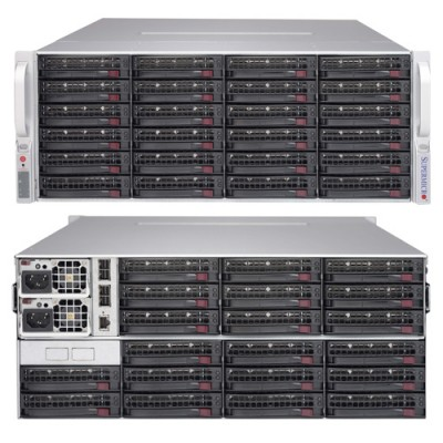 Supermicro 4U SAS3 JBOD SuperChassis CSE-847E1C-R1K28JBOD