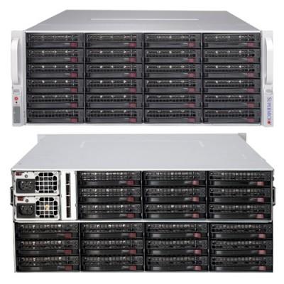 Supermicro 4U SAS2 JBOD SuperChassis CSE-847E26-R1K28JBOD