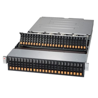 Supermicro Bridge Bay SuperStorage SBB SSG-2028R-DN2R48L - Angle