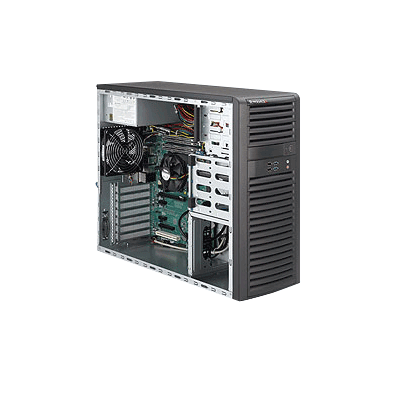 Supermicro SYS-5037A-iL MidTower Workstation