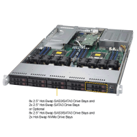 Supermicro SYS-1028UX-CR-LL2 Angle