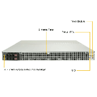 Supermicro 1U Rackmount Server SYS-1029GQ-TNRT-FrontView