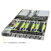 Supermicro 1U Rackmount Server SYS-1029GQ-TRT-TopAngle