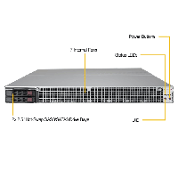 Supermicro 1U Rackmount Server SYS-1029GQ-TXRT-FrontView