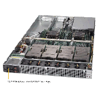 Supermicro 1U Rackmount Server SYS-1029GQ-TXRT-TopAngle