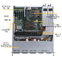 Supermicro 1U Rackmount Server SYS-1029P-MTR -TopView