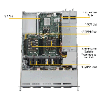 Supermicro 1U Rackmount Server SYS-1029P-WT-TopAngle