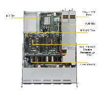 Supermicro 1U Rackmount Server SYS-1029P-WTRT-TopView