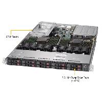 Supermicro 1U Rackmount Server SYS-1029U-TR4-Angle