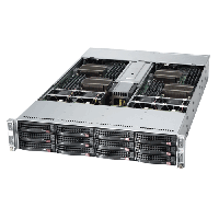 Supermicro 2U Twin2 Rackmount A+ AMD Opteron Server AS-2022TG-HLTRF