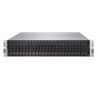 Supermicro 2U Twin2 MultiNode SYS-2027TR-H70QRF - Front