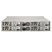 Supermicro 2U Twin2 MultiNode SYS-2027TR-H70QRF  -  Rear