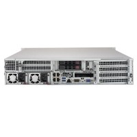 Supermicro 2U Rackmount SYS-2029U-E1CR4T - Rear