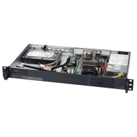 Supermicro  1U Rackmount SuperServer SYS-5018A-LTN4 - Angle