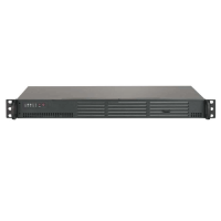 Supermicro  1U Rackmount SuperServer SYS-5018A-LTN4 - Front