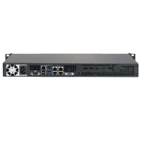 Supermicro  1U Rackmount SuperServer SYS-5018A-LTN4 - Rear