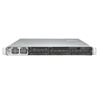 Supermicro 1U Rackmount Server Sys-5018GR-T - Front
