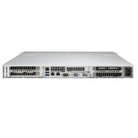 Supermicro 1U Rackmount Server Sys-5018GR-T - Back