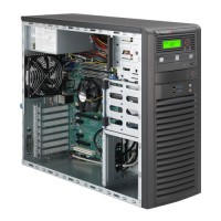 Supermicro Mid-Tower SuperServer SYS-5037A-i - Angle