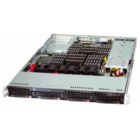 Supermicro 1U Rackmount SYS-6017R-N3RF4+ Angle