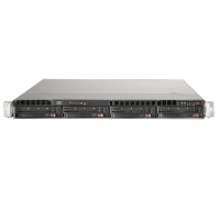 Supermicro 1U Rackmount SYS-6017R-N3RF4+ Front