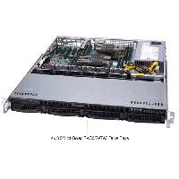 Supermicro 1U Rackmount Server SYS-6019P-MT-TopAngle