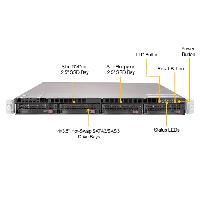 Supermicro 1U Rackmount Server SYS-6019U-TR25M-FrontView