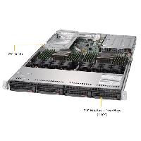 Supermicro 1U Rackmount Server SYS-6019U-TRTP -TopAngle