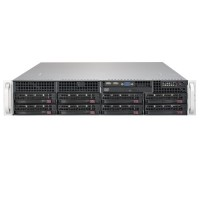 Supermicro 2U Rackmount SYS-6029P-TRT - Front