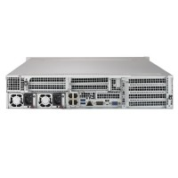Supermicro 2U Rackmount SYS-6029U-E1CR4T - Rear