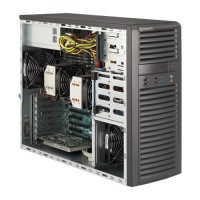 Supermicro Mid-Tower SuperWorksation SYS-7037A-i - Angle